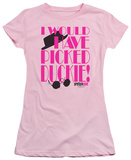 Juniors: Pretty In Pink - Picked Duckie T-Shirt
