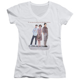 Juniors: Sixteen Candles - Poster V-Neck T-Shirt
