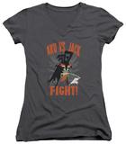 Juniors: Samurai Jack - Jack Vs Aku V-Neck Shirts