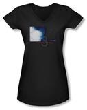 Juniors: Paranormal Activity 3 - Shadows V-Neck T-Shirt
