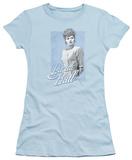 Juniors: Lucille Ball - Blue Lace Shirt