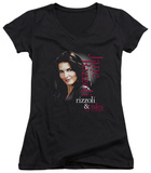 Juniors: Rizzoli & Isles - Jane Rizzoli V-Neck T-Shirt