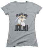 Juniors: Samurai Jack - Don't Know Jack V-Neck T-Shirt
