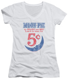 Juniors: Moon Pie - Lunch Munch V-Neck Shirts