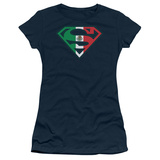Juniors: Superman - Mexican Shield T-shirts