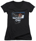 Juniors: American Grafitti - Mamma's Car V-Neck Shirt