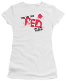 Juniors: Shaun Of The Dead - Red On You T-Shirt