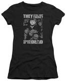 Juniors: Shaun Of The Dead - Still Out There T-Shirt