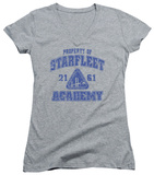 Juniors: Star Trek - Old School V-Neck T-shirts