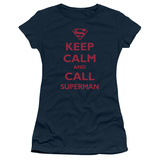 Juniors: Superman - Call Superman T-shirts