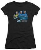 Juniors: Star Trek - Main Three T-shirts
