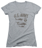 Juniors: Army - Airborne V-Neck Womens V-Necks