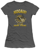 Juniors: Army - Hooah T-shirts