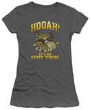 Juniors: Army - Hooah T-shirts