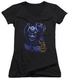 Juniors: Batman Arkham Asylum - Arkham Bane V-Neck Shirt