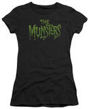 Juniors: The Munsters - Distress Logo Shirts