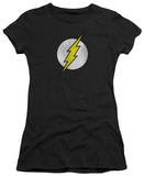 Juniors: The Flash - Flash Logo Distressed Shirt