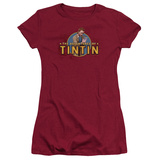 Juniors: The Adventures of Tintin - Looking For Clues T-shirts