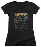 Juniors: Batman Begins - Waiting V-Neck Shirts