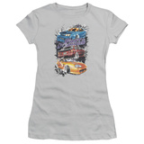 Juniors: The Fast And The Furious - Smokin Street Cars T-Shirt