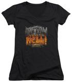 Juniors: Tenacious D - Metal V-Neck Shirts