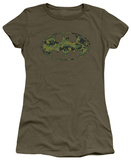 Juniors: Batman - Marine Camo Shield Shirts