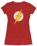 Juniors: The Flash - Rough Flash T-Shirt