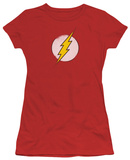 Juniors: The Flash - Rough Flash Logo T-shirts