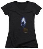 Juniors: Batman Arkham Asylum - Arkham Joker V-Neck T-shirts