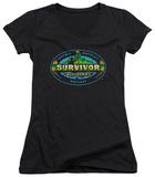 Juniors: Survivor - All Stars V-Neck Shirts
