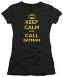 Juniors: Batman - Call Batman T-Shirt