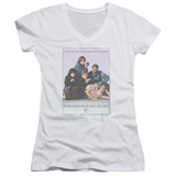 Juniors: The Breakfast Club - BC Poster V-Neck T-shirts