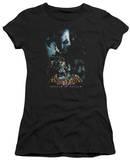 Juniors: Batman Arkham Asylum - Five Against One T-Shirt