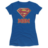 Juniors: Superman - Super Mom T-shirts