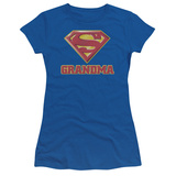 Juniors: Superman - Super Grandma Shirts