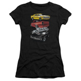 Juniors: The Fast And The Furious - Muscle Car Splatter T-shirts
