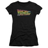 Juniors: Back To The Future - Logo T-Shirts
