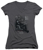 Juniors: The Vampire Diaries - Be Yourself V-Neck T-shirts