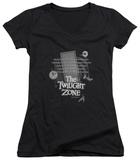 Juniors: The Twilight Zone - Monologue V-Neck T-Shirt