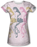 Juniors: Bettie Page - Multiples T-shirts