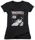 Juniors: Vampirella - I Must Feed V-Neck Shirts