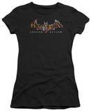 Juniors: Batman Arkham Asylum - Arkham Asylum Logo T-Shirt