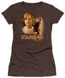 Juniors: Battlestar Galactica - Starbuck(Classic) Shirts