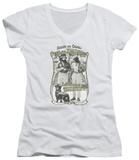 Juniors: Cheech & Chong Up In Smoke - Labrador V-Neck T-shirts