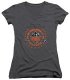 Juniors: Battlestar Galactica - Squadron V-Neck T-Shirts