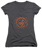 Juniors: Battlestar Galactica - Squadron V-Neck T-shirts