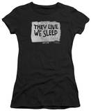 Juniors: They Live - We Sleep Shirts