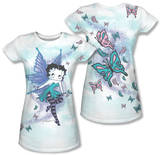Juniors: Betty Boop - Sparkle Fairy (Front/Back Print) Shirts