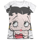 Juniors: Betty Boop - Big Boop Head T-shirts