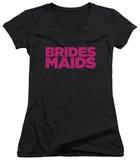 Juniors: Bridesmaids - Logo V-Neck Bluser